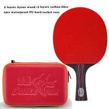 Новинка 2018 красная и черная ракетка для настольного тенниса