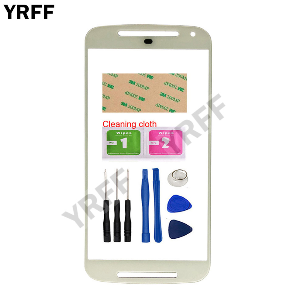 US $2 74 15% OFF|5 0'' Mobile Touch Screen Outer Glass For Motorola Moto G2  XT1068 XT1063 Front Glass Panel Replacement-in Mobile Phone Touch Panel