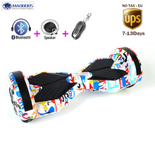 Hoverboard Bluetooth Speaker Electric scooter 2 Wheel self Balance Electric scooter unicycle Standing Smart Giroskuter