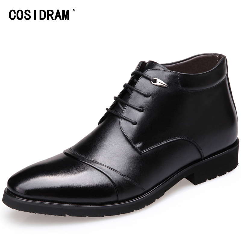 COSIDRAM New 2017 Ankle Motorcycle Boots PU Leathe...