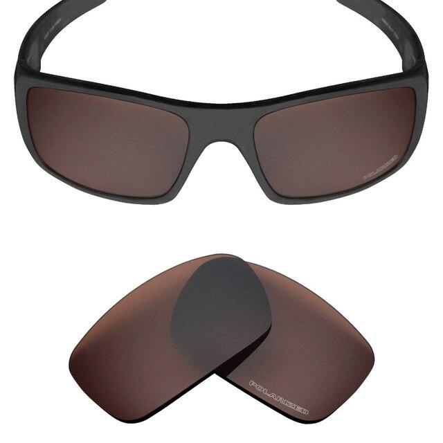 54b9732b7c Mryok+ POLARIZED Resist SeaWater Replacement Lenses for Oakley Crankshaft  Sunglasses Bronze Brown
