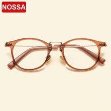 fa08573c0451a NOSSA Marca Do Desenhador Do Vintage Óculos De Armação TR90 Estilo Japão  Pontos Prescrição Óculos de Armação Miopia Quadros Mulh.