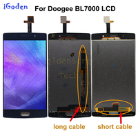 100% Tested Screen For 5.5 inch Doogee BL7000 LCD Display+Touch Screen Digitizer Assembly Replacement bl 7000 +tools