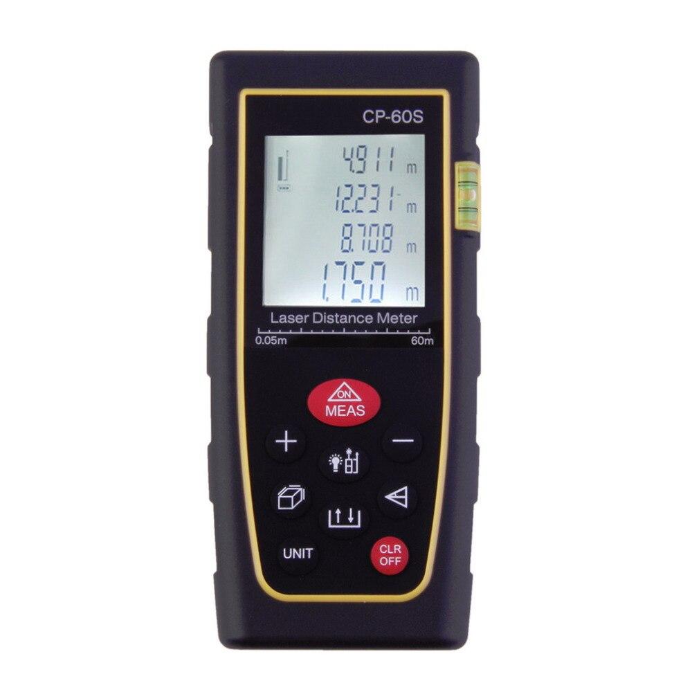 ФОТО 60M Handheld Digital Laser Distance Meter Range Finder Measure Distancemeter Wholesale