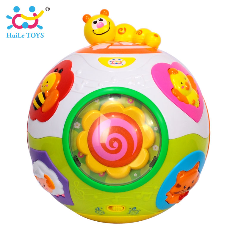 HUILE-TOYS-938-Baby-Toys-Toddler-Crawl-Toy-with-Music-Light-Teach-ShapeNumberAnimal-Kids-Early-Learning-Educational-Toy-Gift-4