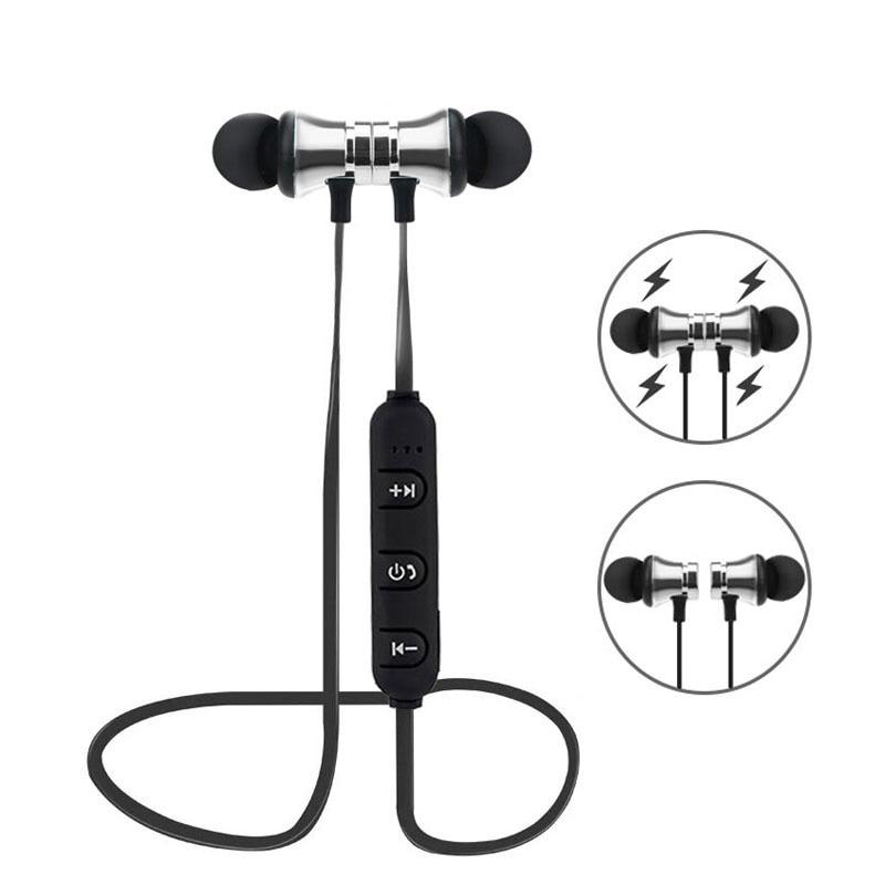 Magnetic Headphone Bluetooth Earphone for Nokia 6.1 Plus X6 2018 7 Plus 8 Sirocco 9 1 2 2.1 3 3.1 5 5.1 6 Sport Wireless Headset
