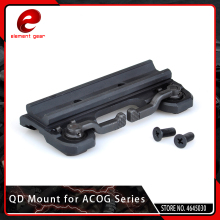 Element Tactical Quick Release / QD Mount for Airsoft ACOG 4x32 Scope / Red Dot Hunting Accessories new arrival tactical 4x32 acog style scope with mini red dot for hunting bwr 034