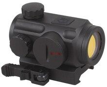 Vector Óptica Caza 1x20mm Red Dot Sight Scope con 21mm QD Montaje del tejedor Base fit Rifles AK 47 AK74 5.56mm Real 12 ga escopeta