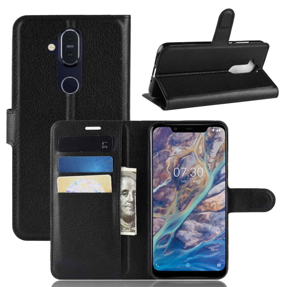 Nokia 8.1 Case Nokia 8.1 2018 Case Luxury PU Leather Back Cover Case For Nokia 8.1 TA-1119 TA-1128 Phoenix Nokia8 Phone Bag Skin