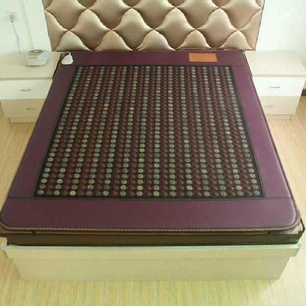 2016 Best Selling Hot New Jade Mattress Electric Heating Natural Tourmaline Mat korea Tourmaline Mattress Free Shipping 1.2*1.9M 2016 new style popular best selling natural jade