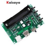 5W + 5W PAM8403 Bluetooth Digital HIFI Amplificador Board para USB Energia Da Bateria De Lítio Cartão SD Máquina de Cantar DIY A8-006