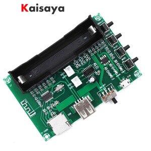 5W + 5W PAM8403 Bluetooth Digital Lithium Battery Power HIFI Amplifier Board for USB SD Card Singing Machine DIY A8-006(China)