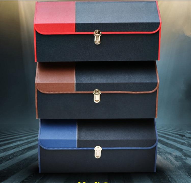 automobiler accessories auto trunk storage box glove compartment car collection bag