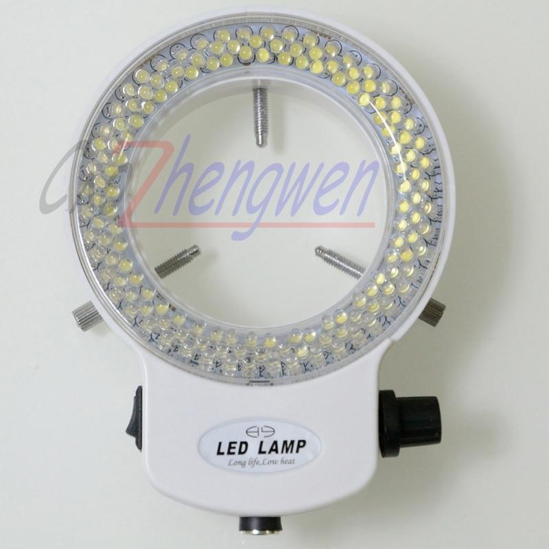 FYSCOPE nastavitelná 144 LED kruhová lampa iluminátorová lampa - Měřicí přístroje - Fotografie 3