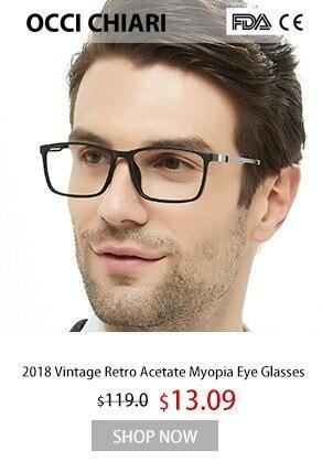 OCCI CHIARI Homens Homens Homem Clássico Praça Armações De Óculos de  Acetato Óculos de Armação Óptica Óculos de Miopia Óculos W-CACCI fa88031342