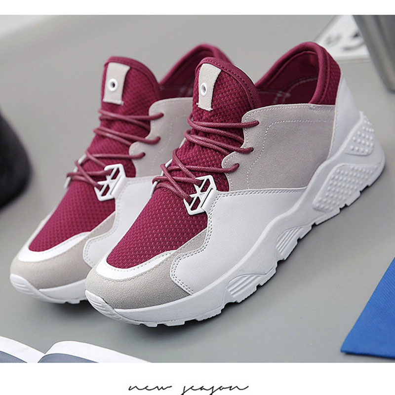 New Women's Air Mesh Breathable Running Shoes All-match Female Outdoor Athletic Zapatillas Sports Jogging Sneakers 1712