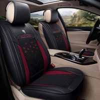 5D version full surrounded car seat cover Microfiber leather ice silk car seat cushion universal fit automobile accessories 1621