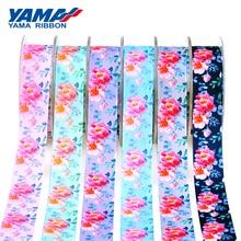 YAMA Spring Flower Printed Ribbon 25mm 1