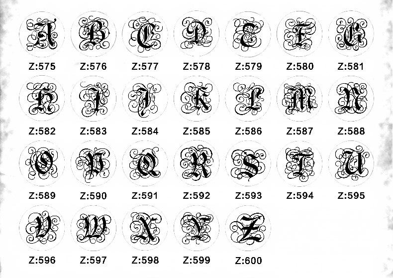 Letter stamp 1-13