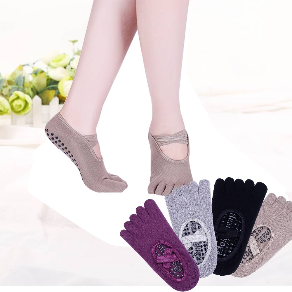 Women Anti Slip Sports Yoga Socks High Quality Ladies Quick-Dry Ventilation Socks Pilates Ballet Socks Dance Sock