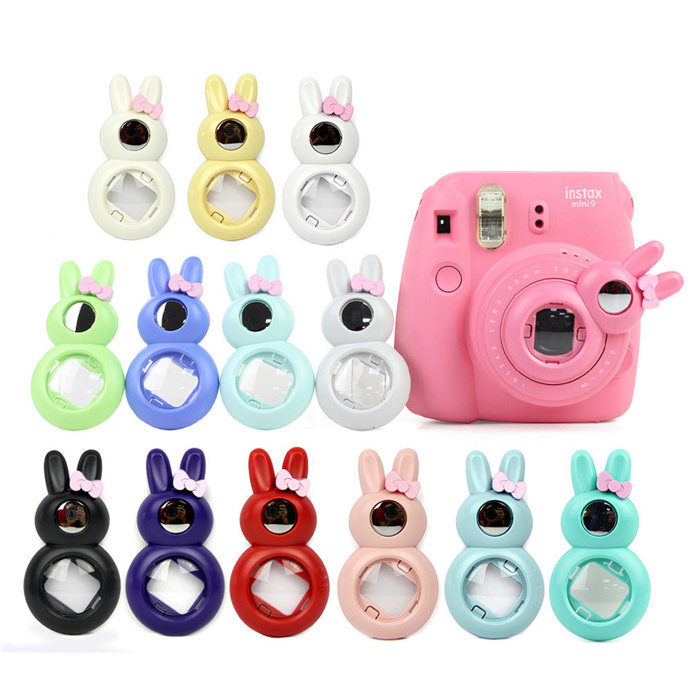 FUJIFILM Instax Camera Mini 8 Mini 7s Kitty Cute Rabbit Style Self Portrait Mirror Close Up Lens Selfie for Instant Camera Собака