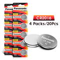 20pcs original brand for PANASONIC cr2016 BR2016 DL2016 LM2016 KCR2016 ECR2016 3v button cell coin lithium batteries for watch