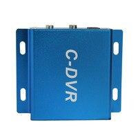1 kanałowy mini TF karty wideo analogowego cctv bezpieczeństwa/rejestrator dvr VGA 640*480 pętli nagrywania dźwięku