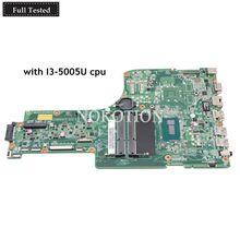 NOKOTION For acer aspire E5-771G E5-771 Laptop motherboard SR244 I3-5005U CPU tested DA0ZYWMB6E0 NBMNX11005 NB.MNX11.005