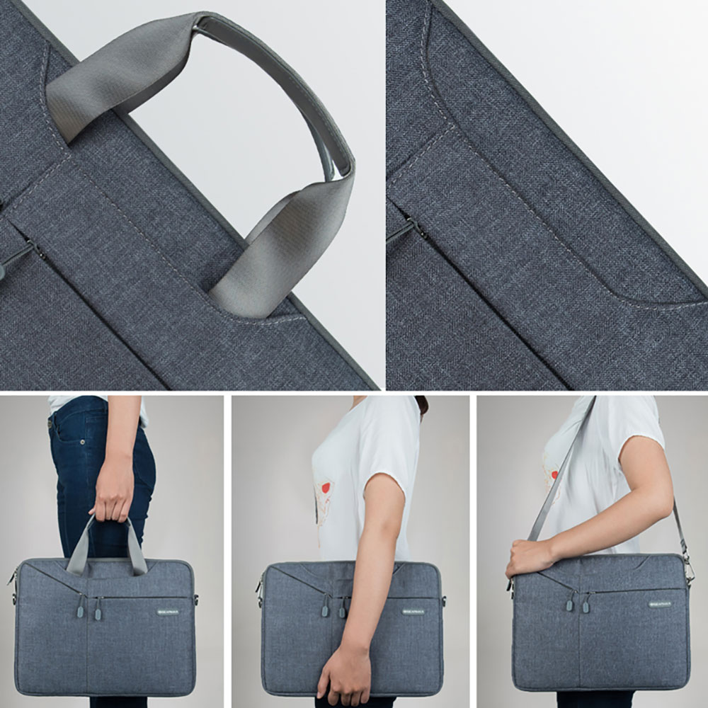74794964044 Gearmax Laptop Messenger Bag 11 12 13 14 15 Men s Bag for MacBook Air Pro 13  Nylon Waterproof Notebook Bag for Xiaomi Pro 15.6-in Laptop Bags   Cases  from ...