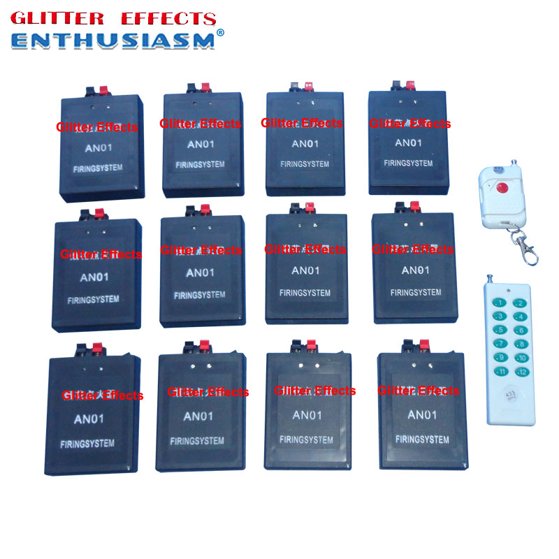 12 channels AN12 remote control Safety professional fire machine for show