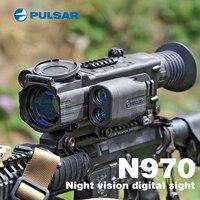 Пульсар n970 цифровой прицел ночного видения прицелов Тактический обнаружения прицел ночного видения Сфера прицелов оптика