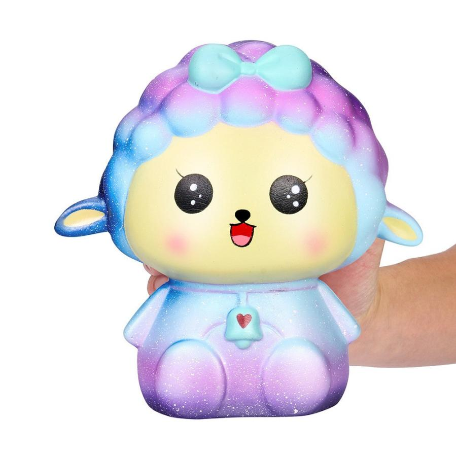 18cm Squishy Toy Jumbo Big Galaxy Sheep Slow Rising Cream Scented Cure Squeeze Toys Stress Reliever Kids Gift
