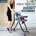 Teknum детские обеденный стул многофункциональный складной портативный ребенок отрегулировать сиденье детей стол
