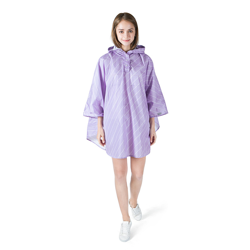 Girl Lady Hooded Raincoat Women Outdoor Travel Waterproof Riding Cloth Rain Coat For Women Poncho Long Rainwear Rain Jacket