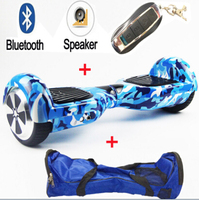 Self Balance Scooters Hoverboard Two Wheel 6 5 Inch Electric Scooter With Bluetooth Speeker Carry Bag