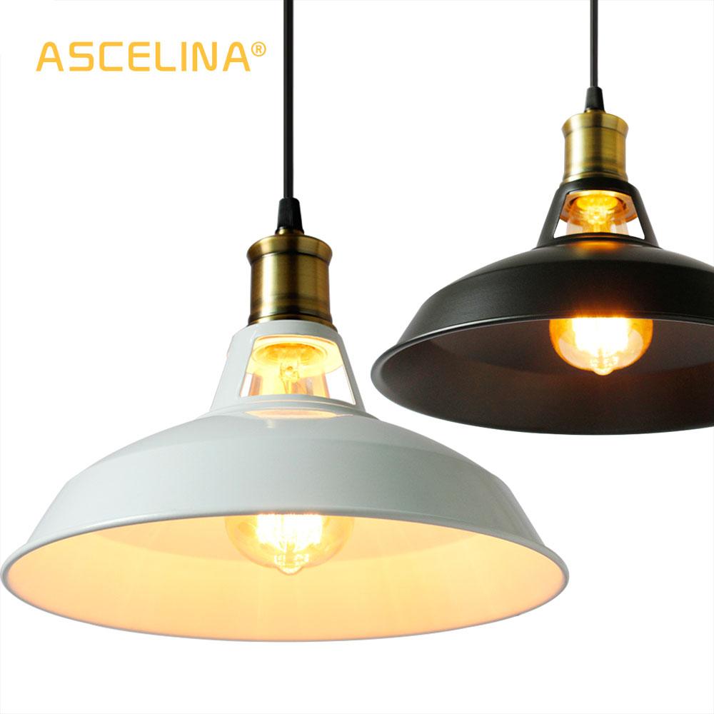 Ձեղնահարկի կախազարդ լամպեր Արդյունաբերական կախազարդ լույսեր Vintage Edison կախովի լամպ E27 110 220V Տնային ռեստորանի համար զարդարեք թեթև ստվեր