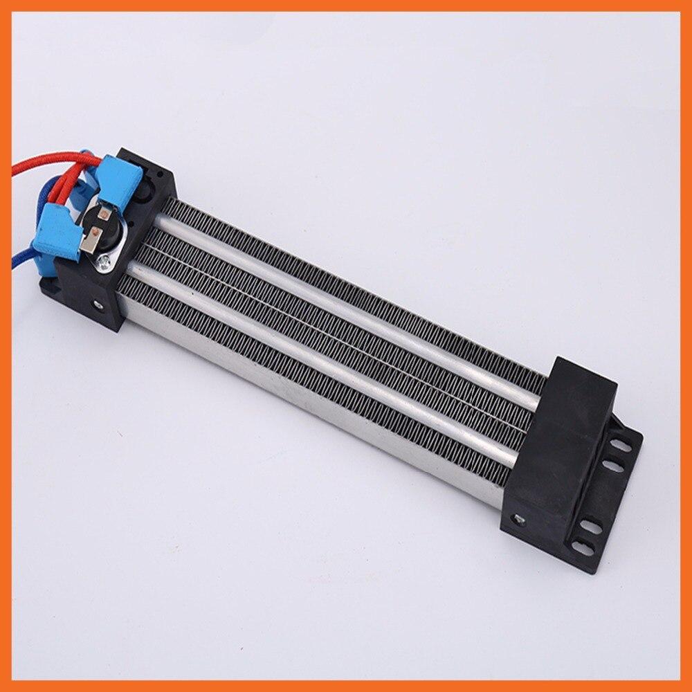430x50mm 2000 W 220 V Durable électrique en céramique thermostatique PTC élément chauffant réchauffeur d'air isolé