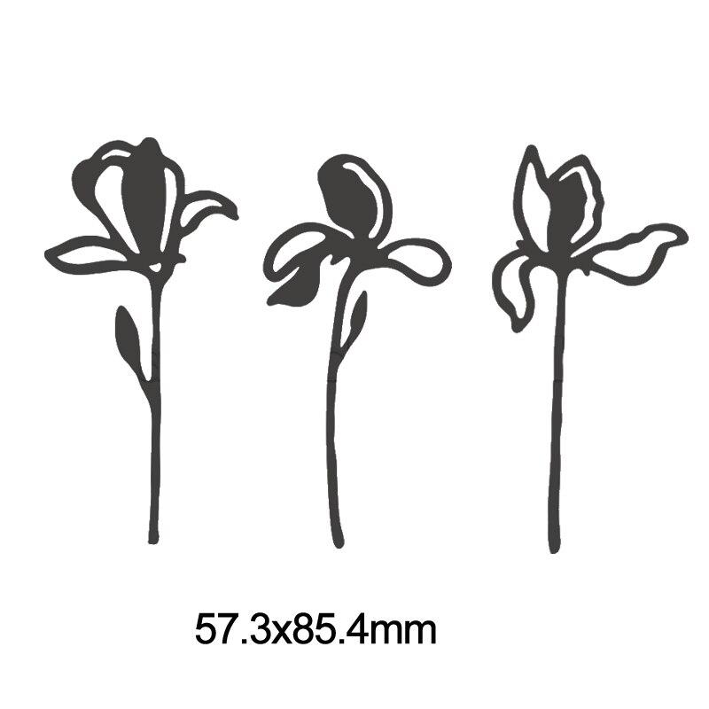 Васильковые травы эвкалиптовая ветка цветы металлические Вырубные штампы для поделок скрапбукинга бумажные открытки, декоративные поделки новые штампы - Цвет: Picture 8