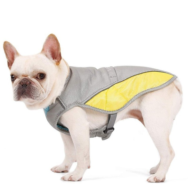 Benepaw Adjustable Straps Cooling Dog Vest Harness Attachment Hole Small Large Dog Clothes Summer Reflective Pet Cooler Jacket