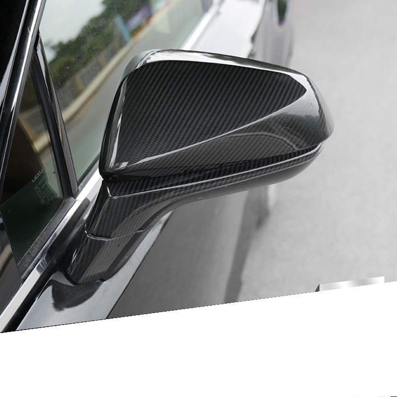 lsrtw2017 car styling carbon fiber car rearview cover trims for lexus nx200 nx200t nx300h rx200t rx350 rx450h 2016 2017 2018