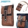 JINSERTA Waist Pack Pouch Phone Bag Wallet Purse Shoulder Strap Hook Loop Belt Clip Holster Case