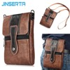 JINSERTA Waist Pack Pouch Phone Bag Wallet Purse Shoulder Strap Hook Loop Belt Clip Holster Case