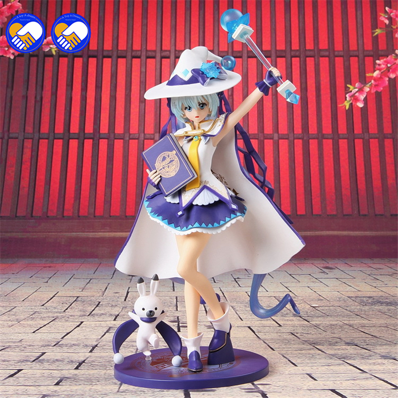 A toy A dream Hot 1pcs 27CM pvc Japanese anime figure magic Twinkle Miku Snow MikuYUKI MIKU action figure collectible model toys