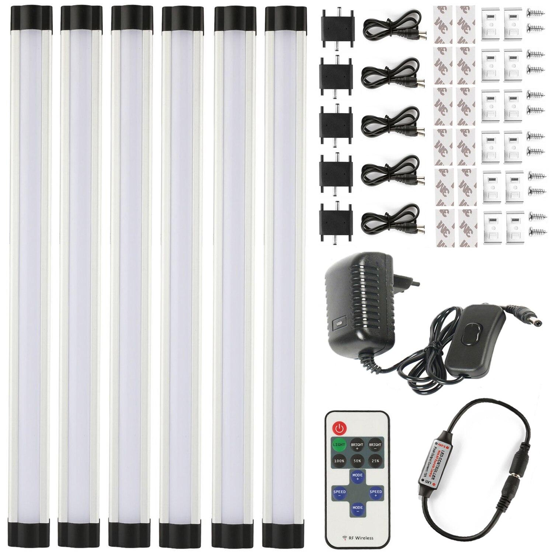 LED Bar Light Strip smd 2835 110V 220V 3W 30cm 6 Fast Seamless Connecting led bar