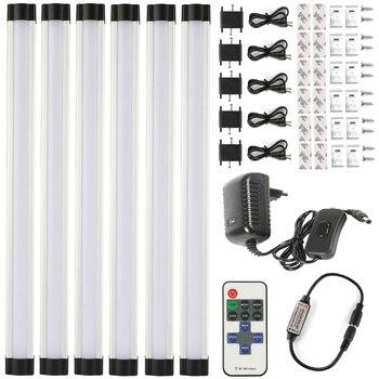 СВЕТОДИОДНАЯ лента smd 2835 110 В 220 В 3 Вт * 30 см * 6, быстрая бесшовная Соединительная светодиодная лампа, Барра, включает в себя набор кухонных лам...