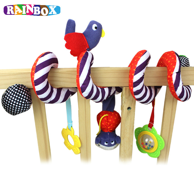 Baby New Design Infant Toys Baby Crib Revolves Around Bed Stroller Playing Toy Crib Lathe Hanging