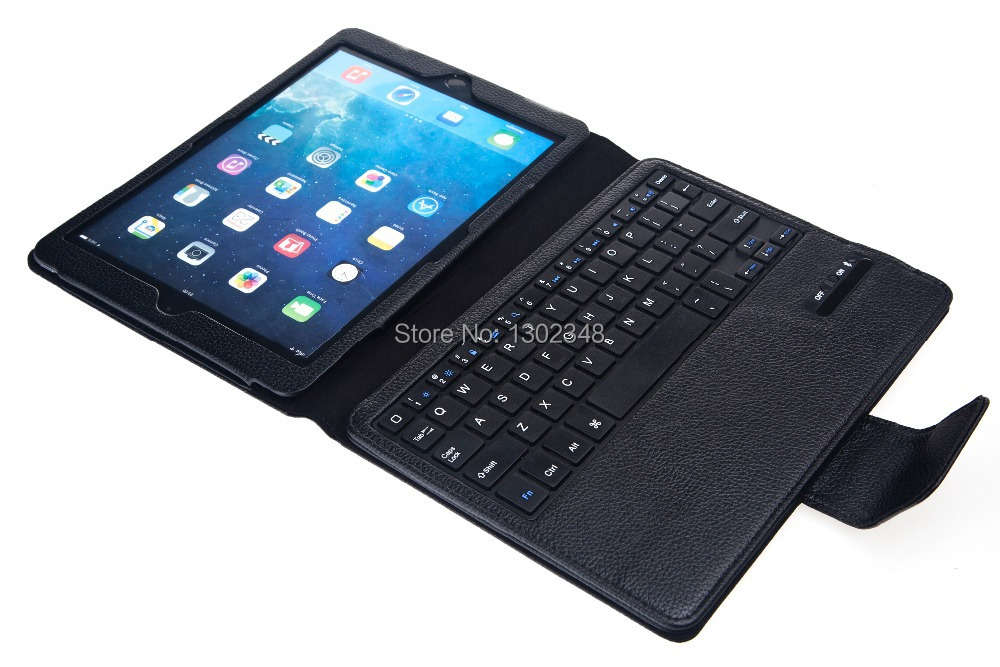 Russian & Special Letter 2 in1 Removable Wireless Bluetooth Keyboard & Leather Stand Cover Case For Apple ipad air 2 ipad 6 air2 removable bt keyboard case cover stand for lenovo k3 lynx 11 6