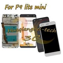 Продажа 5,0 »новых для huawei P9 Lite мини Полный ЖК-дисплей дисплей + Сенсорный экран планшета в сборе с рамкой черный/белый цвет/золото 100% тестирование