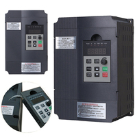 1pc 2KW 3HP Single Phase Variable Frequency Inverter Drive Inverter VSD VFD Universal Motor Speed PWM