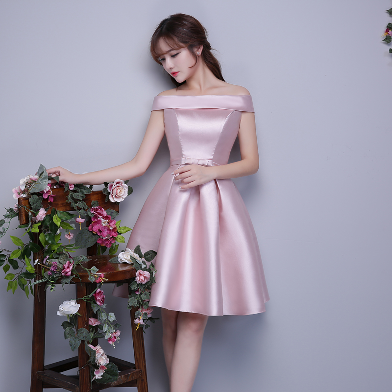 Cheap Short Bridesmaid Dresses Under 50 Off The Shoulder